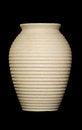 Free Ceramic Jar On Black Royalty Free Stock Photos - 27860188