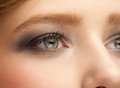 Free Woman Eye With Makeup Royalty Free Stock Photo - 27860655