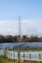 Free Flooded Water Meadow In Autumn Stock Photos - 27868123