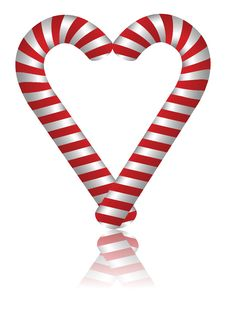 Free Lovely Candy Cane Stock Photos - 27860073