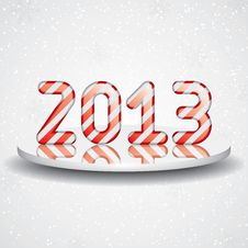 New Year Card Stock Photography