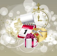 Free 2013 - New Year Background Royalty Free Stock Image - 27867336