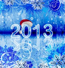 Free 2013 - New Year Background Royalty Free Stock Photography - 27867407