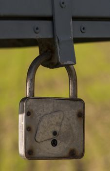 Free Old Rusty Padlock Stock Photography - 27868212