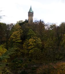 Luxembourg Castle Royalty Free Stock Images