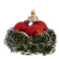 Free Christmas Decoration Isolated On White Royalty Free Stock Photography - 27870747