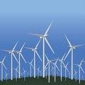 Free Wind Alternative Energy Station Stock Photo - 27875580