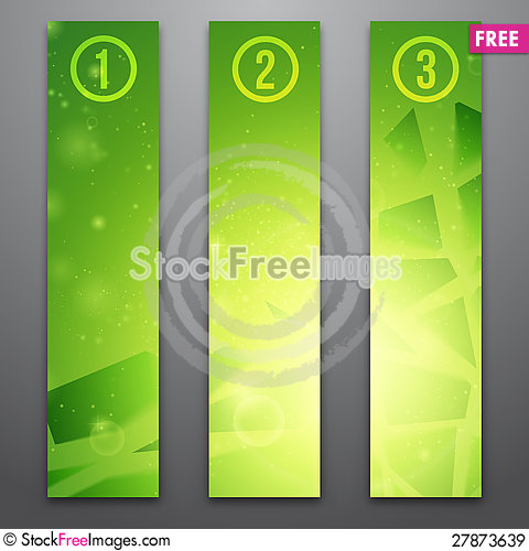 Free Vector Web Banners Royalty Free Stock Images - 27873639