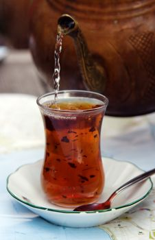 Free Turkish Tea Royalty Free Stock Image - 27873776