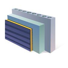 Sandwich Panels Aerocrete Concrete Slabs Royalty Free Stock Images