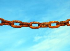 Free Rusty Chain Royalty Free Stock Images - 27874669