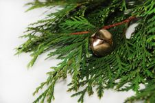 Free Christmas Bell Royalty Free Stock Photography - 27876547