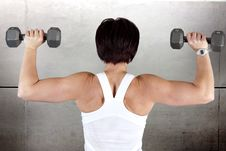 Free Work Out Woman Royalty Free Stock Images - 27877509