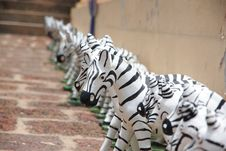 Free Zebra Statue. Stock Photo - 27877980