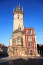 Free Prague Town Hall Royalty Free Stock Photo - 27885645