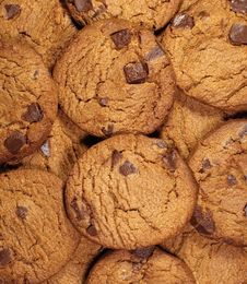 Chocolate Cookie Stock Images