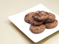 Free Chocolate Cookie Stock Photography - 27882152