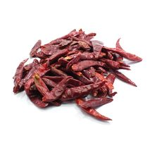 Dry Chillies Royalty Free Stock Photo