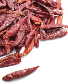 Free Dry Chillies Royalty Free Stock Photography - 27882207