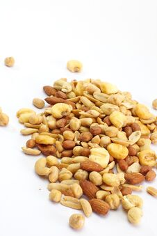 Free Mixed Nuts Stock Images - 27882354