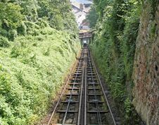 Cliff Railway. Royalty Free Stock Images