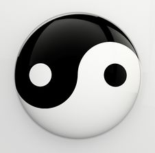 Free Yin Yang Royalty Free Stock Images - 27889649