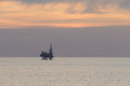 Free Jack Up Rig In The Middle Of The Sea Stock Photos - 27897883