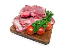 Uncooked Meat Royalty Free Stock Photography