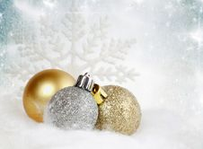 Free Christmas Decorations Stock Photos - 27896253
