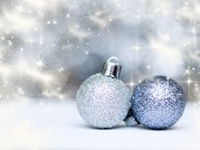 Free Christmas Decorations Royalty Free Stock Photo - 27896275