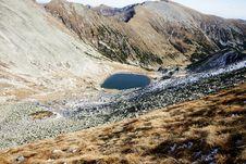 Free Bucura Lake In Retezat Mountains Stock Photo - 27896400