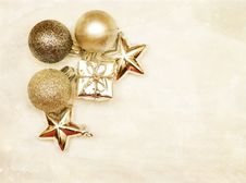 Free Christmas Decorations Royalty Free Stock Photo - 27896415