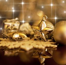 Free Christmas Decorations Stock Image - 27896421