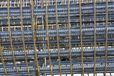Free Rebar Cages Stock Photography - 27896932
