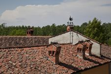 Free Weathervane On The Roof Stock Image - 27899991