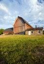 Free Sunset Barn Stock Photography - 2791752