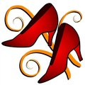 Free Fashion - Red High Heel Shoes Royalty Free Stock Photo - 2794805