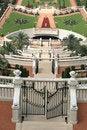 Free View Over Bahai Gardens Haifa Stock Image - 2795531
