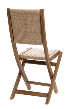 Free Folding Wooden Chair Stock Photography - 2790082