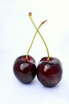 Free Two Cherries Stock Photos - 2790973