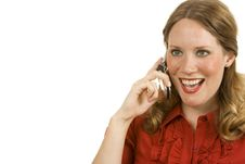 Free Happy Call Stock Photos - 2791353