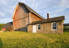 Free Sunset Barn Stock Photos - 2791713