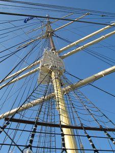 Sailing-ship Royalty Free Stock Images