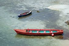 Free Colorful Boats In The Water Royalty Free Stock Photo - 2791825