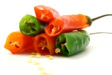 Free Pepper Isolated In White Backg Royalty Free Stock Photo - 2792445