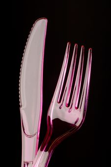 Free Plastic Knife And Fork Stock Images - 2793064