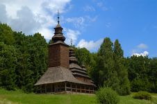 Free Wooden Church Stock Photography - 2793182