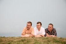 Free Three Men Stock Photos - 2793723