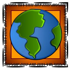 Free Planet Earth Icons Clip Art Royalty Free Stock Images - 2794729