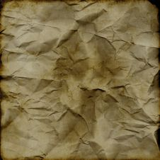 Free Grunge Crumpled Backdrop Royalty Free Stock Images - 2794749